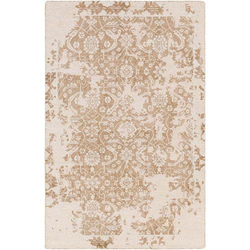 Surya Hoboken Tan and Light Gray Rectangular: 2 Ft. x 3 Ft. Rug