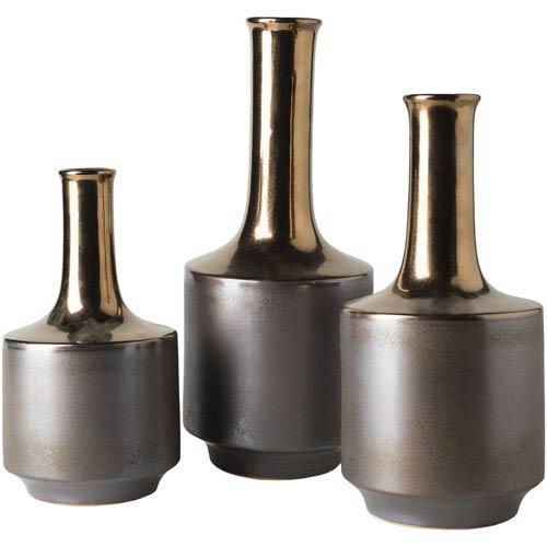 Surya Harding Copper Vase