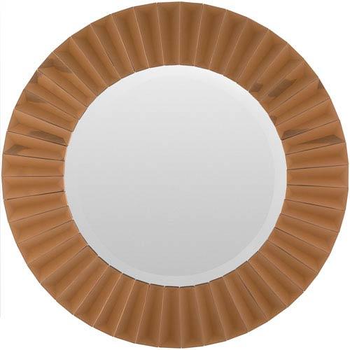 Surya Hugo Copper Mirror