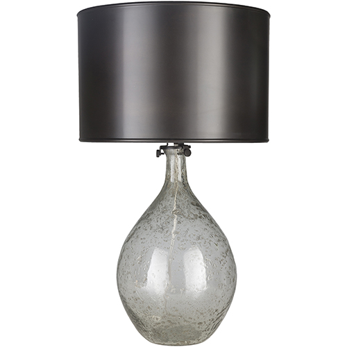 Surya Hayworth Distressed Recycled Glass One Light Table Lamp Hwt