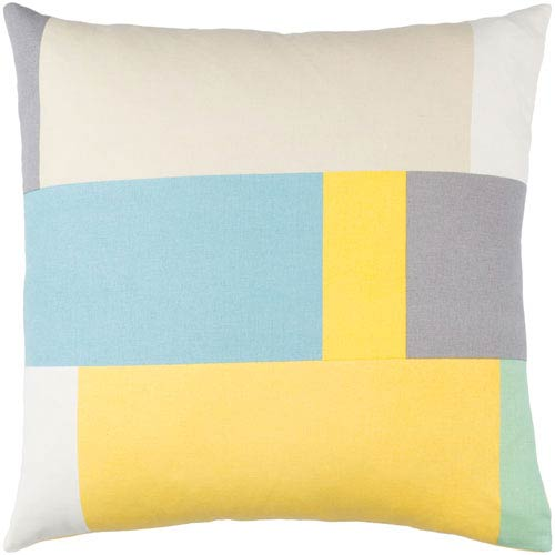 Surya Lina Multicolor 18 x 18-Inch Pillow Cover