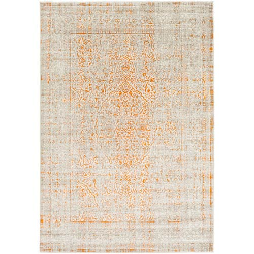 Jax Orange and Brown Rectangular: 2 Ft. 2-Inch x 3 Ft. Rug