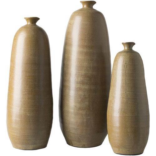 Jennings Tan Vase