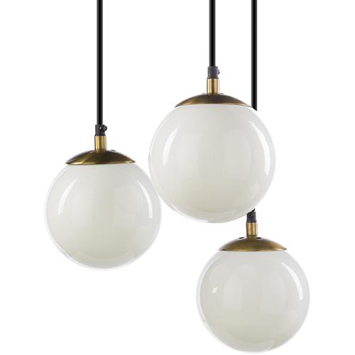 Surya Jules Gold Three-Light Pendant