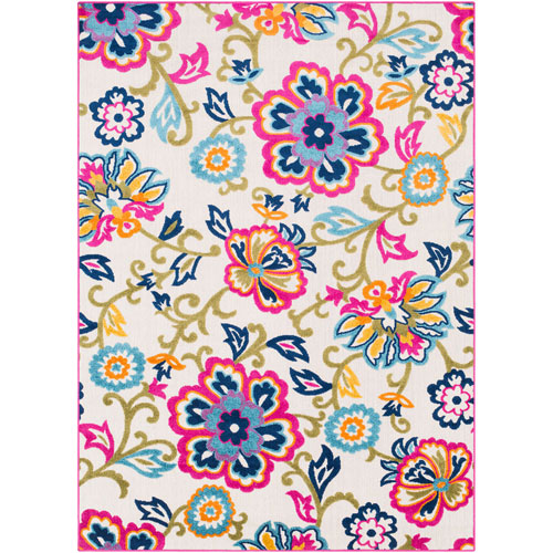Jolene Multicolor Rectangle: 2 Ft. x 3 Ft. Rug