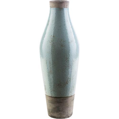 Surya Leclair Sage and Dark Brown Vase