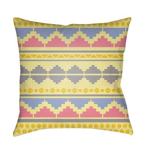 Surya Littles Multicolor 18 x 18-Inch Pillow