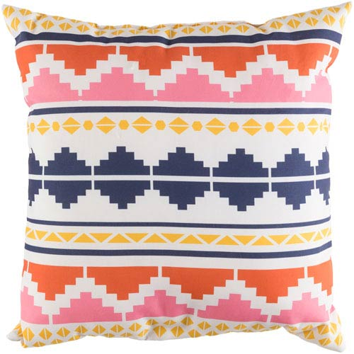 Littles Multicolor 20 x 20-Inch Pillow