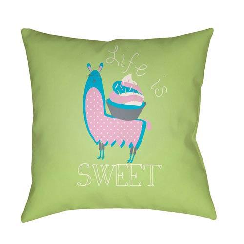 Surya Littles Multicolor 22 x 22-Inch Pillow