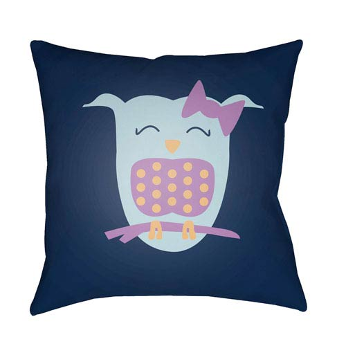 Surya Littles Multicolor 20 x 20-Inch Pillow