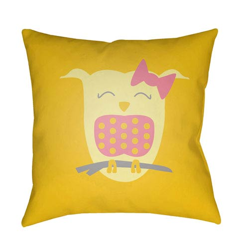Surya Littles Multicolor 20 x 20-Inch Pillow
