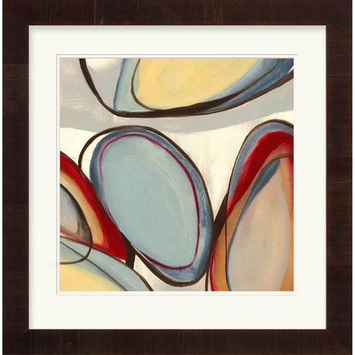 Charmant Circular Reasoning IV By Goldberger, Jennifer 31 X 32 Inch Abstract Wall Art