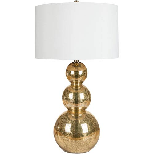 Surely Sparkle Brass One Light Table Lamp