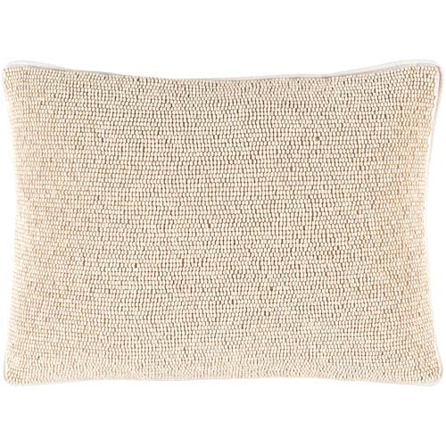 Surya Lark Neutral 13 Inch X 19 Pillow Cover