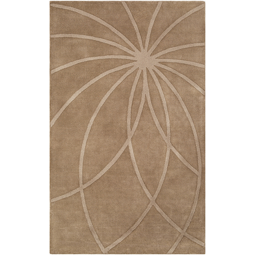 Mystique Dark Brown Rectangular: 5 Ft. x 8 Ft. Rug