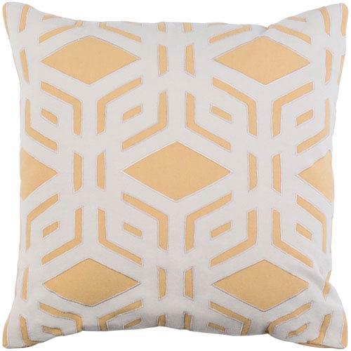 Surya Millbrook Mustard 22 x 22 In. Throw Pillow