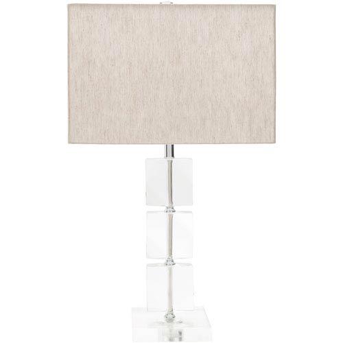 Surya Mckenzie Natural Finish Table Lamp