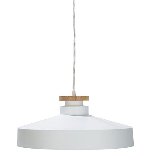 Surya Mcclean White One-Light Pendant