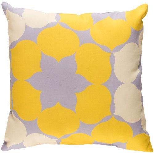 Surya Modern Multicolor 18 x 18-Inch Pillow
