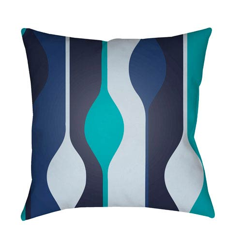 Surya Modern Multicolor 20 x 20-Inch Pillow