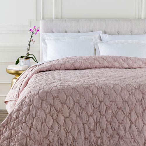 Melissa Pink Full/Queen Quilt