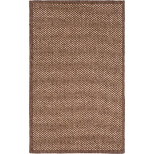 Surya Marmaris Brown Rectangle: 2 Ft. x 3 Ft. Rug