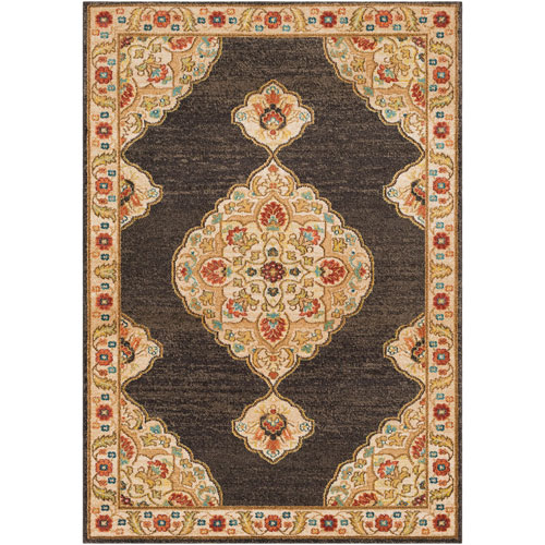 Surya Masala Market Multicolor Rectangle: 2 Ft. x 3 Ft. Rug