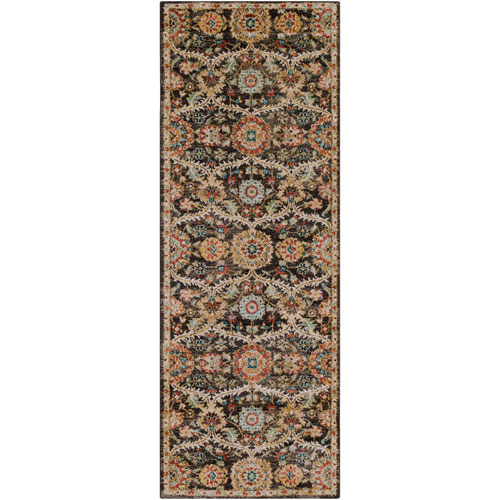 Surya Masala Market Multicolor Runner: 2 Ft. 7 In. x 7 Ft. 3 In. Rug