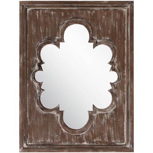 Surya Hart Baltic Decorative Arched and Crowned Mirror