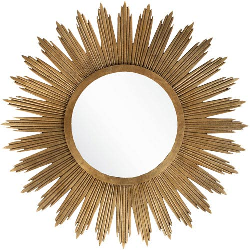 Hopkins Aged Gold Decorative Mirror