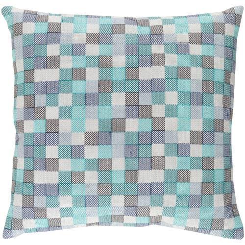 Surya Modular Multicolor 22 x 22 In. Throw Pillow