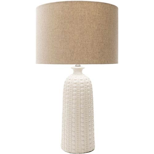 Newell White Table Lamp