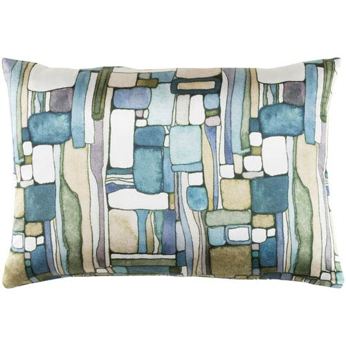 Surya Natural Affinity Multicolor 13 x 19-Inch Throw Pillow