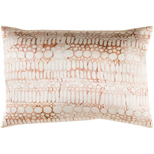 Surya Natural Affinity Multicolor 13 x 19-Inch Pillow Cover