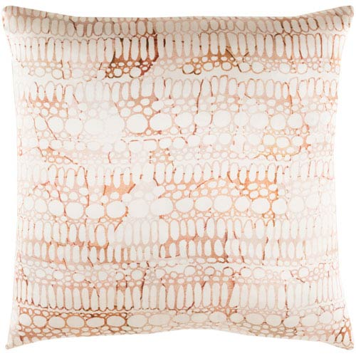 Surya Natural Affinity Multicolor 20 x 20-Inch Throw Pillow