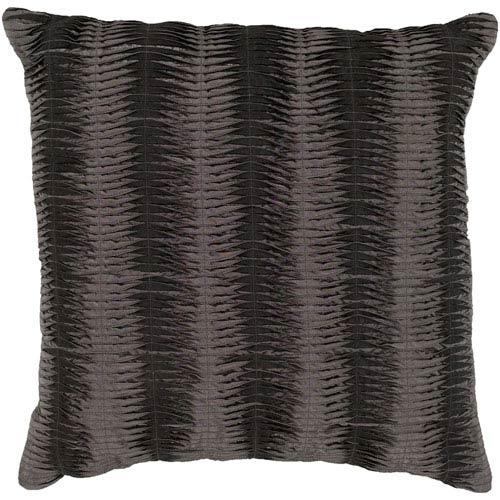 Surya Charcoal and Gray 18 x 18 Pillow