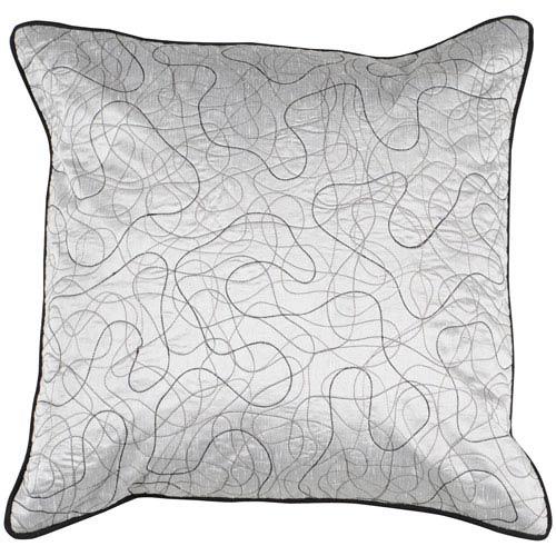 Silver Threads 18 x 18 Pillow