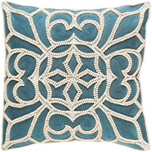 Surya Pastiche Multicolor 22 x 22 In. Throw Pillow