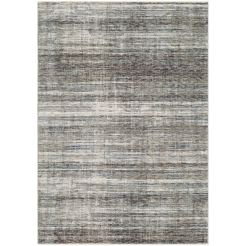 Presidential Grey and Black Rectangular: 5 Ft. x 8 Ft. 2 In. Rug
