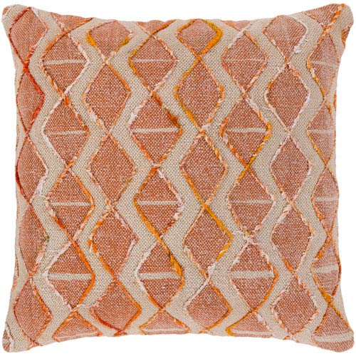 Surya Peya Multicolor 20 x 20 In. Throw Pillow