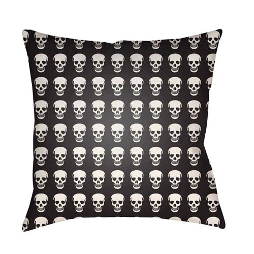 Punk Black and White 20 x 20-Inch Pillow