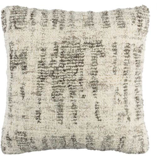 Primal Neutral and Gray 20-Inch Pillow Cover