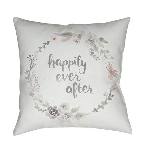 Surya Ever After Multicolor 20 x 20-Inch Throw Pillow