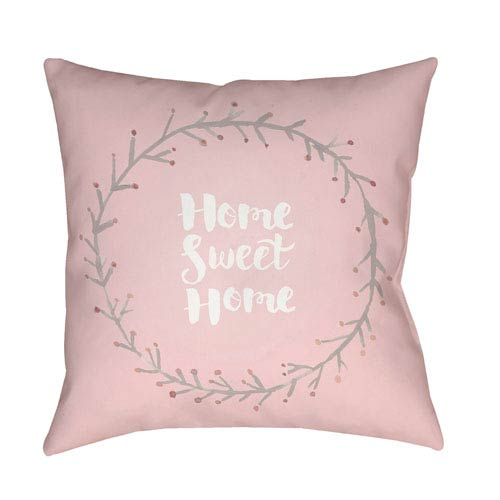 Home Sweet Home II Multicolor 18 x 18-Inch Throw Pillow