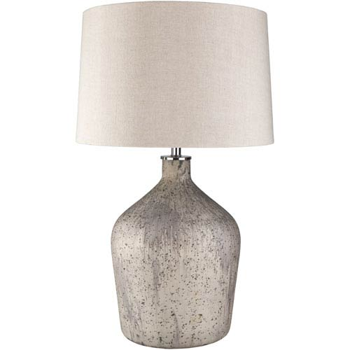 Surya Reilly Gray Portable Lamp