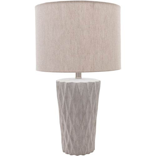 Surya Rico Concrete Table Lamp