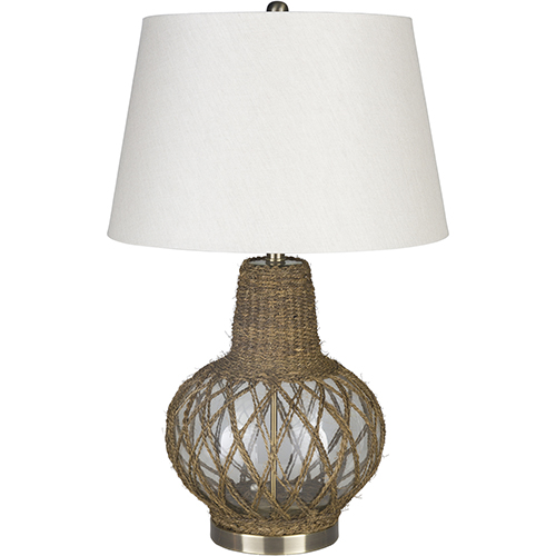 Romney Natural One-Light Table Lamp