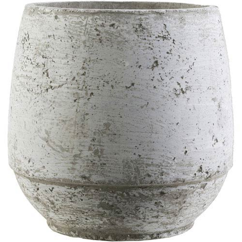 Surya Rome Taupe and Ivory Pot