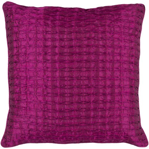 Rutledge Purple 22-Inch Pillow Cover