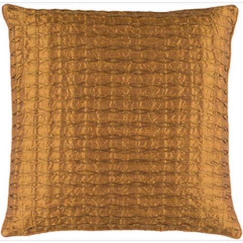 Rutledge Tan 22-Inch Pillow with Down Fill
